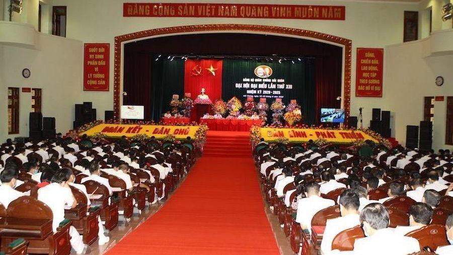 Khai mạc Đại hội Đại biểu Đảng bộ Quân chủng Hải quân lần thứ XIII, nhiệm kỳ 2020 - 2025