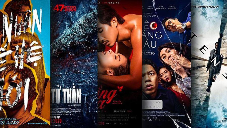 Phim chiếu rạp tháng 8: Chờ đợi siêu phẩm hài đen Việt hay bùng nổ với Tenet và Dị Nhân
