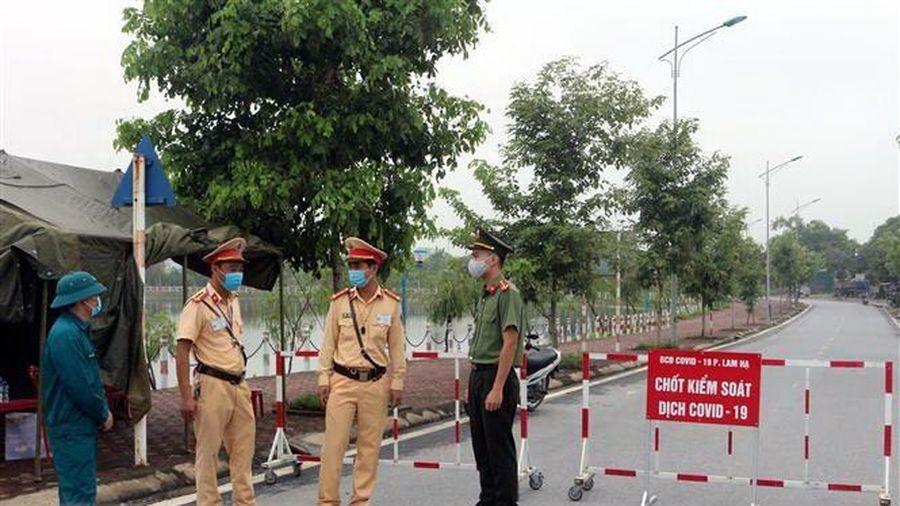 Quảng Ninh lập chốt kiểm soát tại khu tiếp giáp Lạng Sơn, Bắc Giang