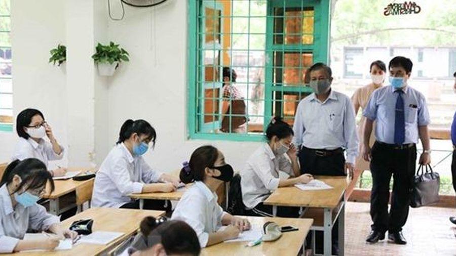 Hà Nội điều động 320 thanh tra tại các điểm thi tốt nghiệp THPT
