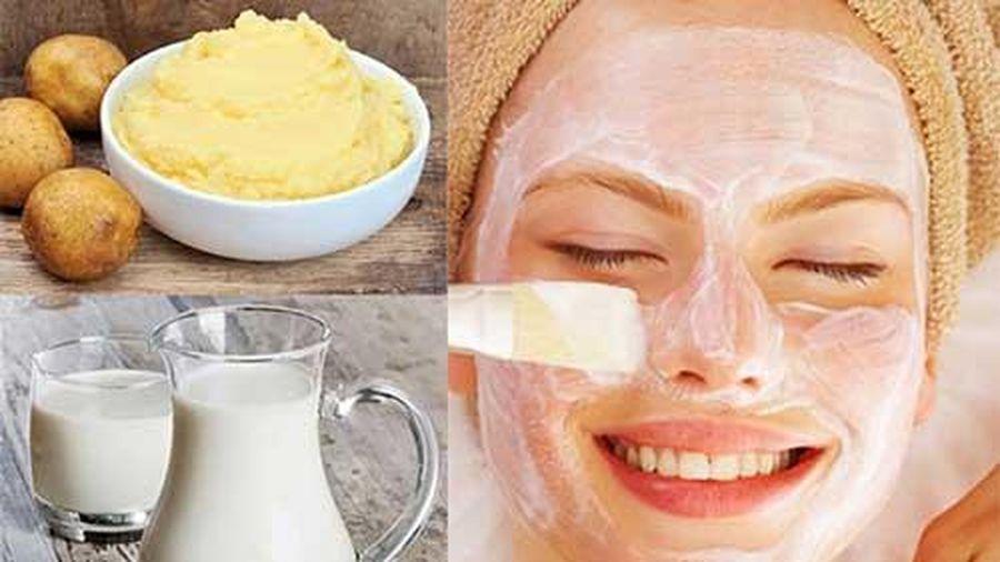Mách bạn các loại mặt nạ khoai tây dưỡng da trắng sáng và trị thâm nám hiệu quả