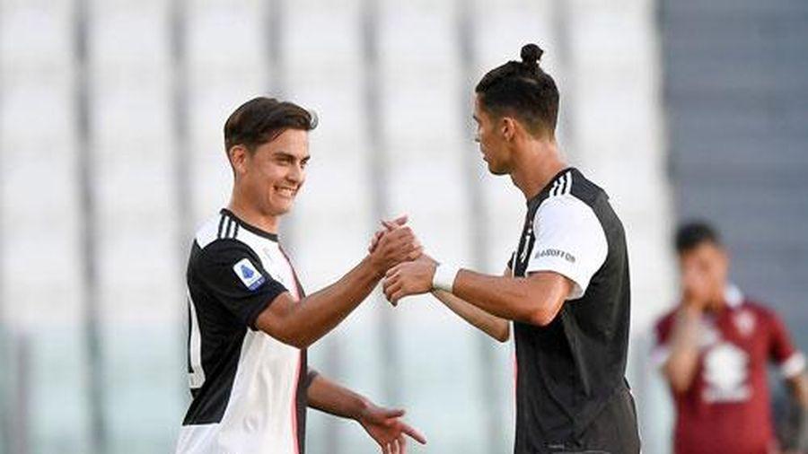 Dybala vượt mặt Ronaldo nhận giải Cầu thủ xuất sắc nhất mùa Serie A 2019/20