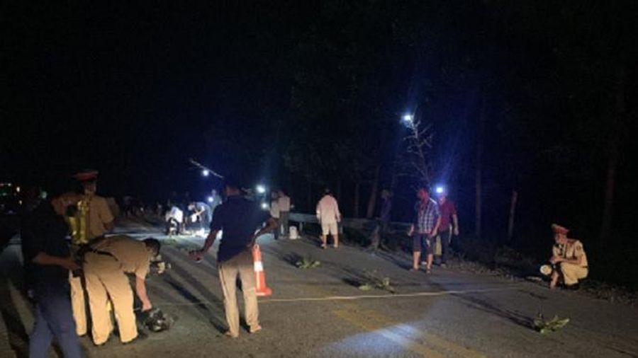 Tài xế điều khiển xe đầu kéo bỏ chạy sau khi cán 1 người đàn ông tử vong