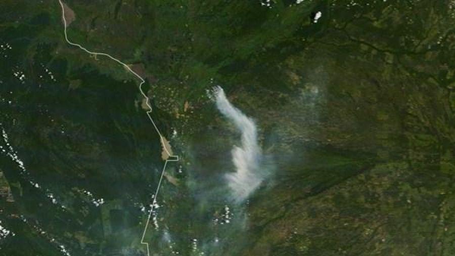 Số vụ hỏa hoạn cao kỷ lục tại vùng đầm lầy lớn nhất thế giới