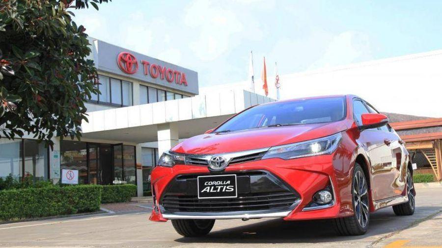 Toyota Corolla Altis 2020 tại Việt Nam: Nâng công nghệ, giảm giá bán