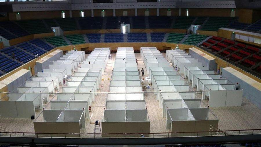 Cận cảnh bệnh viện dã chiến hơn 700 giường bệnh ở Đà Nẵng