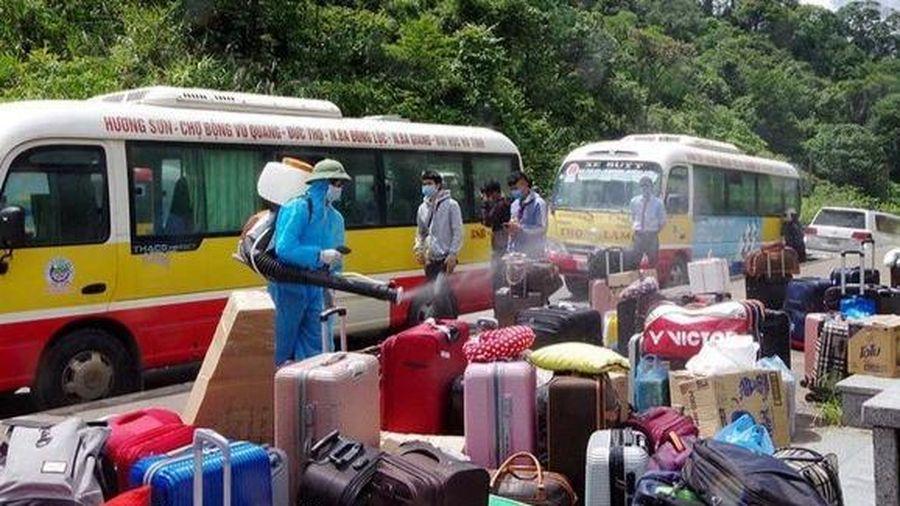 Trở về từ Đà Nẵng nhưng không khai báo, người phụ nữ bị phạt 2 triệu đồng