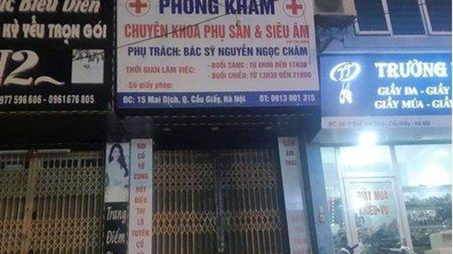 Bộ Y tế vào cuộc vụ thai phụ tử vong tại phòng khám ở Hà Nội
