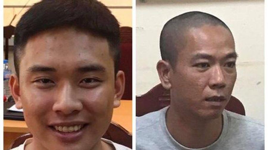 Tạm giam hai đối tượng trong vụ cướp tiền tại Ngân hàng BIDV Chi nhánh Ngọc Khánh