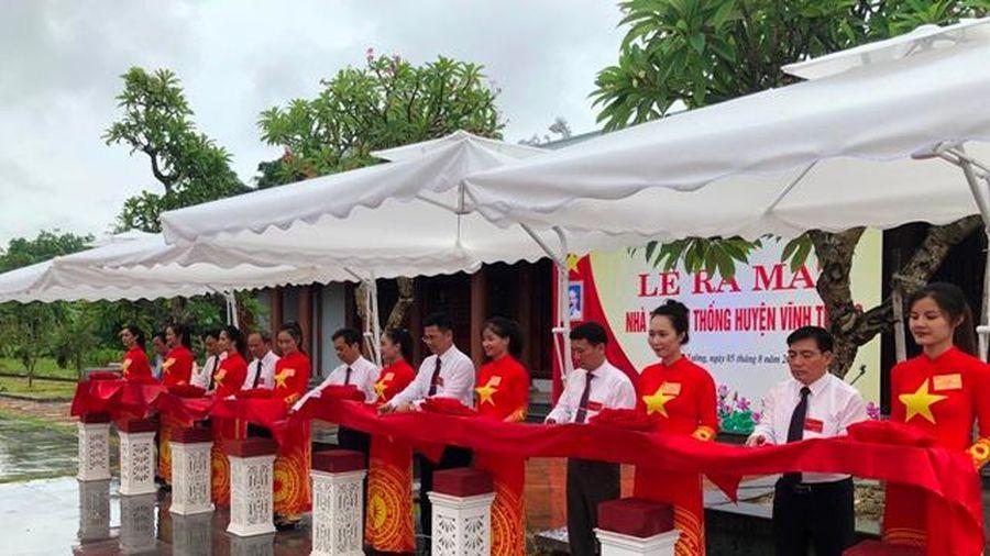 Vĩnh Phúc: Vĩnh Tường thêm 'địa chỉ đỏ' giáo dục truyền thống yêu nước, cách mạng