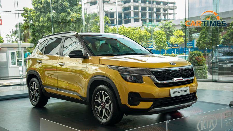 Chi tiết xe Kia Seltos phiên bản 1.4L Luxury được trưng bày tại đại lý