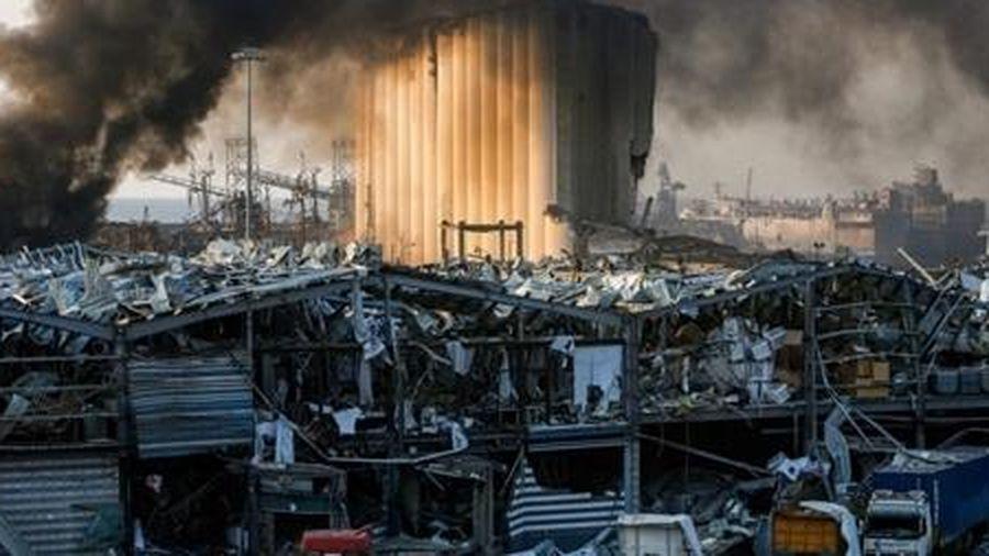 Số người chết và mất tích trong vụ nổ ở Beirut vượt 200