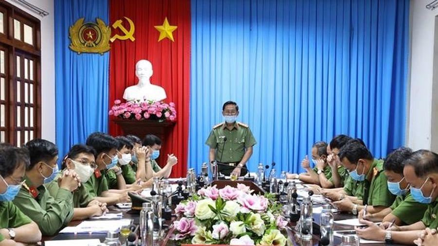 Công an Tây Ninh khẩn trương công tác phòng chống dịch COVID – 19
