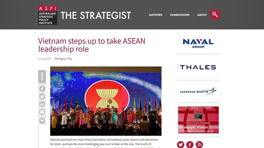 Việt Nam có đóng góp không nhỏ sau 25 năm là thành viên của ASEAN