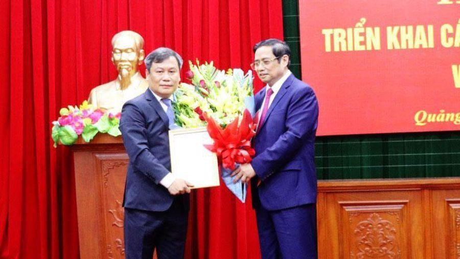 Thứ trưởng Bộ Kế hoạch và Đầu Tư Vũ Đại Thắng làm Bí thư Tỉnh ủy Quảng Bình