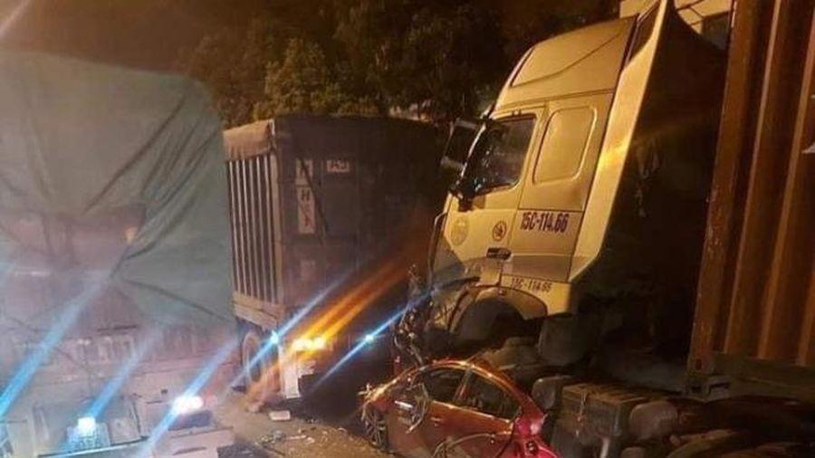 Container nghiền nát ôtô, 3 người chết: Cơn buồn ngủ dẫn đến thảm kịch