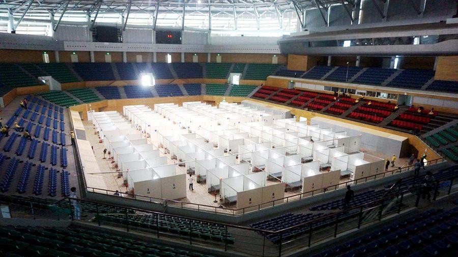 Cận cảnh bệnh viện dã chiến Tiên Sơn - Đà Nẵng