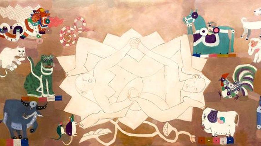 Triển lãm tác phẩm của 19 họa sĩ đương đại hàng đầu trên thị trường