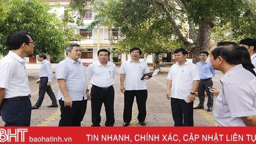 Đảm bảo Kỳ thi tốt nghiệp THPT 2020 tại Hà Tĩnh diễn ra nghiêm túc, an toàn tuyệt đối