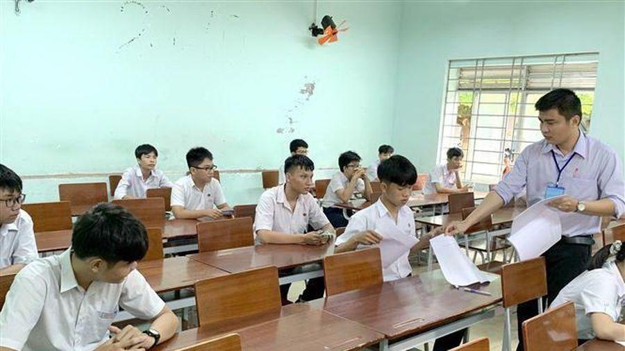 Hà Nội: Điểm thi tốt nghiệp THPT đảm bảo cơ sở vật chất phòng dịch