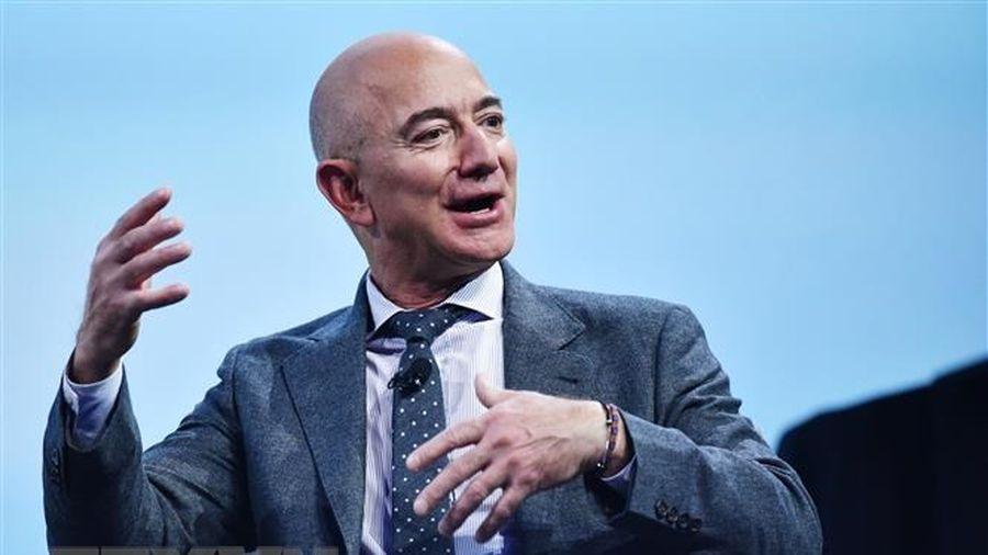 CEO Amazon bán ra hơn 7,2 tỷ USD cổ phiếu kể từ đầu năm 2020