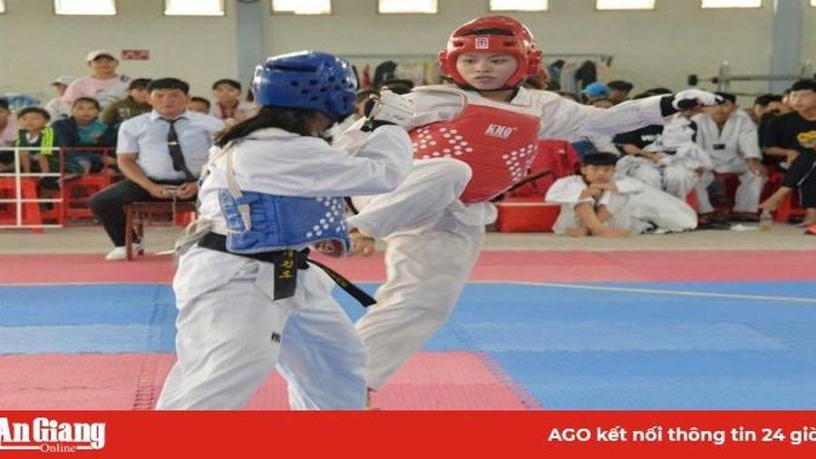 Taekwondo An Giang chú trọng đào tạo tài năng trẻ