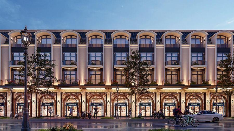 Có gì độc đáo tại dự án nhà phố 2 mặt tiền đầu tiên tại TP.Biên Hòa?