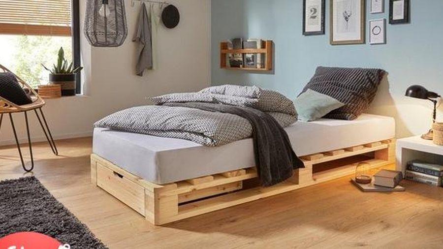 Làm mới phòng ngủ với muôn kiểu giường pallet xinh độc lạ, được nhiều chị em 'nghiện nhà' chọn lựa