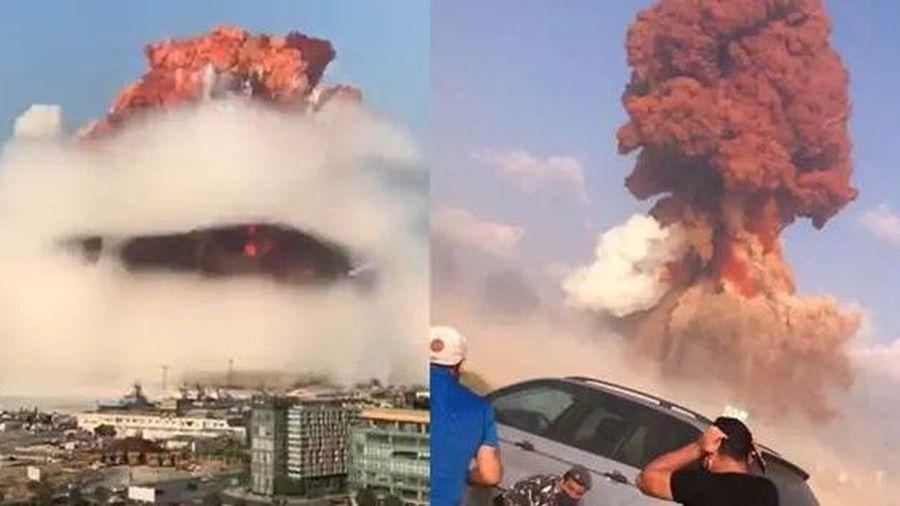 'Vụ nổ ở Beirut là một trong những vụ nổ phi hạt nhân mạnh nhất lịch sử nhân loại'