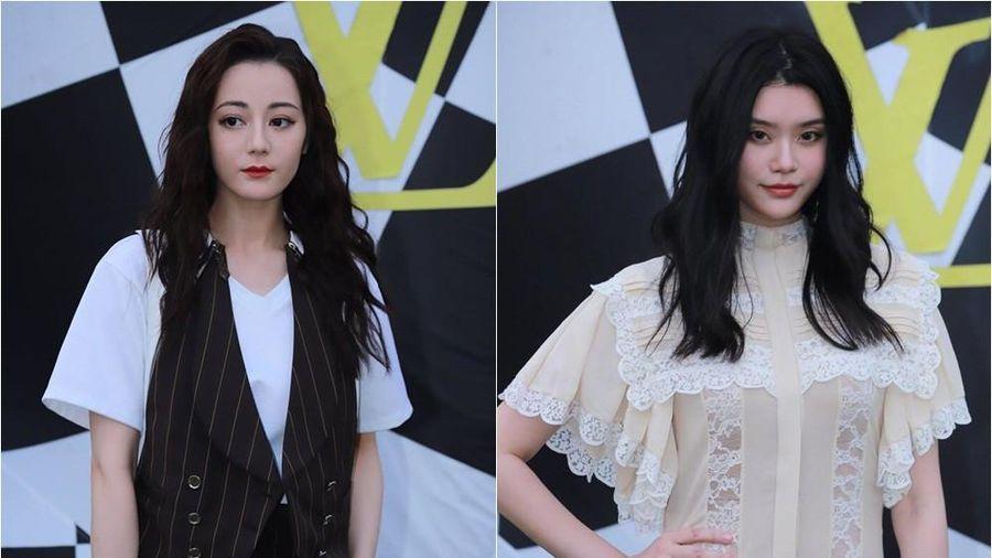 'Con dâu vua sòng bạc' Ming Xi và Địch Lệ Nhiệt Ba bị chê xuống sắc khi dự sự kiện