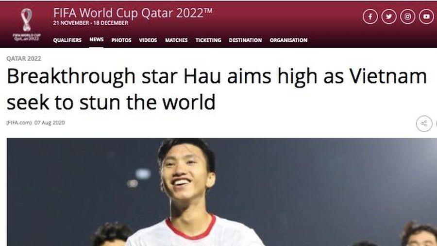 FIFA: Đoàn Văn Hậu là ngôi sao triển vọng của châu Á