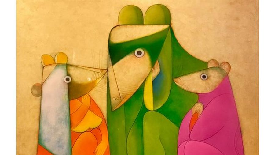 Xem tranh của những họa sĩ đương đại hàng đầu Việt Nam
