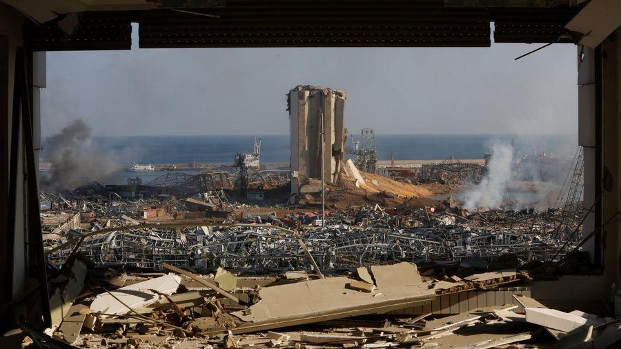Vụ nổ bóp nghẹt trái tim của thành phố Beirut đang hấp hối