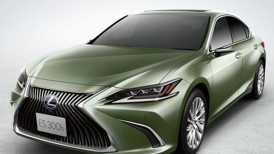 Lexus ES 2020 ra mắt - camera thay gương chiếu hậu