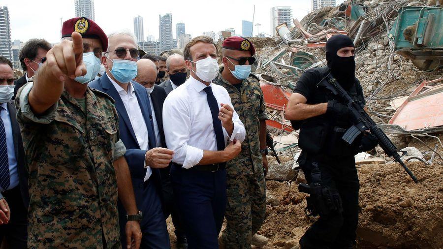 Người Lebanon: 'Hãy để Macron là tổng thống của chúng tôi'