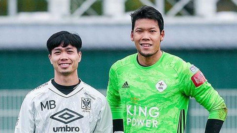 Thủ môn Thái Lan bất lực sau sai lầm của đồng đội