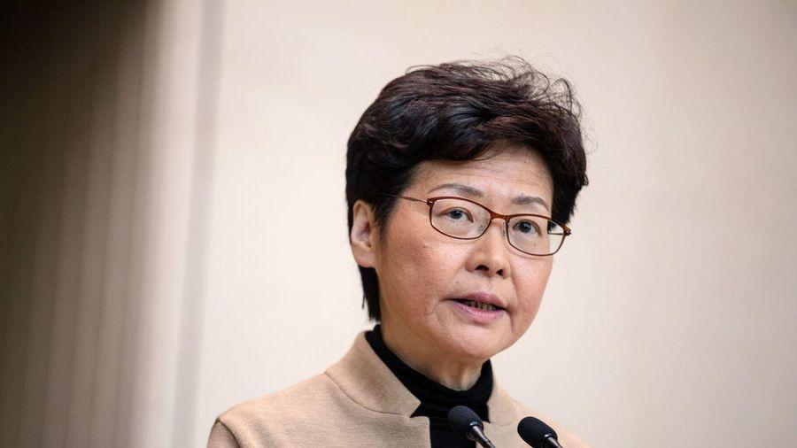 Bloomberg: Mỹ sắp trừng phạt Đặc khu trưởng Hong Kong Carrie Lam