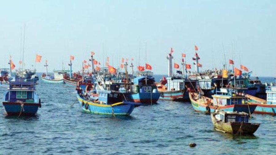 Kiểm soát chặt tàu thuyền trước nguy cơ vùng áp thấp trên Biển Đông