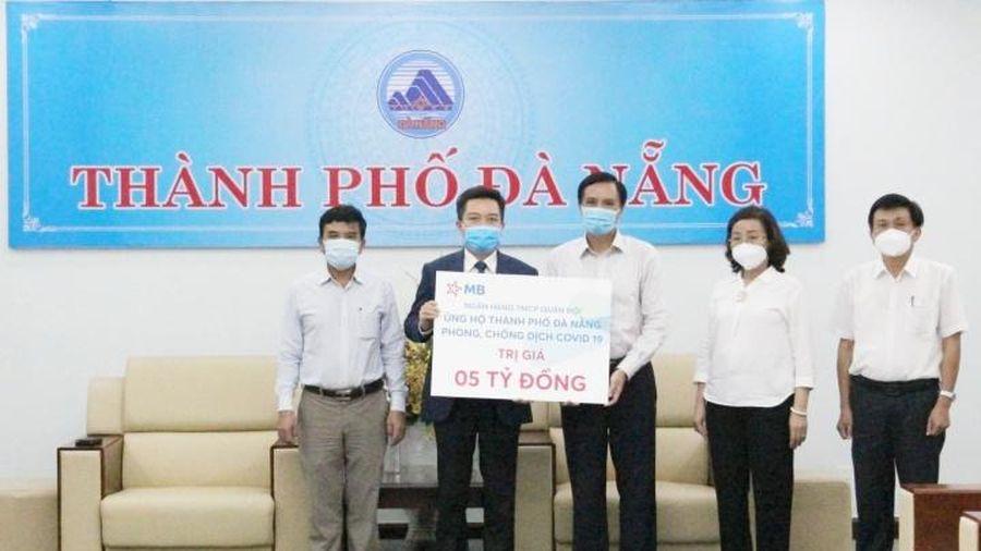 MB đồng hành cùng ngành ngân hàng hỗ trợ TP Đà Nẵng chống dịch Covid-19