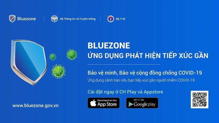 Ứng dụng Bluezone đạt mốc 10 triệu lượt tải