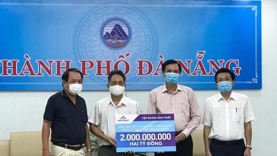 Sáu tỷ đồng ủng hộ Đà Nẵng, Quảng Nam, Quảng Ngãi chống dịch