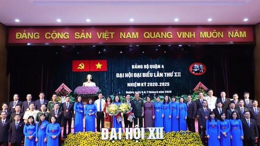 TP HCM: Bà Thái Thị Bích Liên tái đắc cử Bí thư Quận ủy quận 4