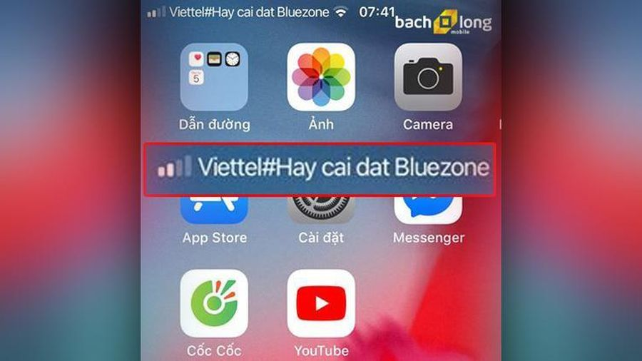 Các nhà mạng đổi logo cột sóng, kêu gọi người dân cài đặt Bluezone