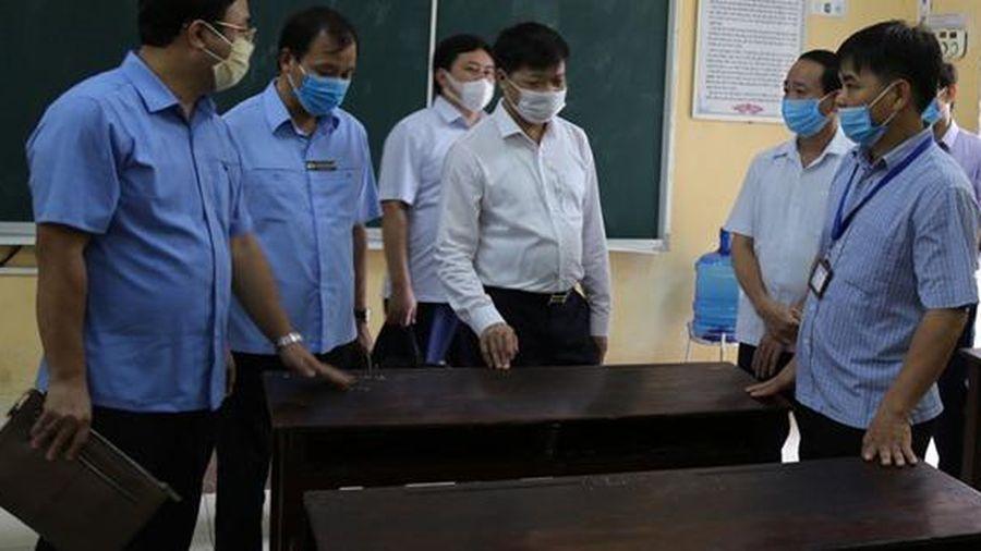 Bắc Ninh: Các điểm thi sẵn sàng trước giờ G