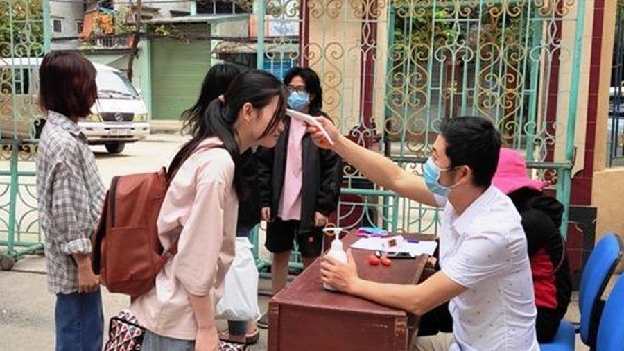Thanh Hóa: Thí sinh, cán bộ làm công tác thi phải đeo khẩu trang