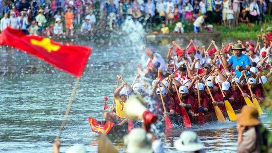 Quảng Bình hoãn lễ hội đua thuyền truyền thống vì dịch bệnh