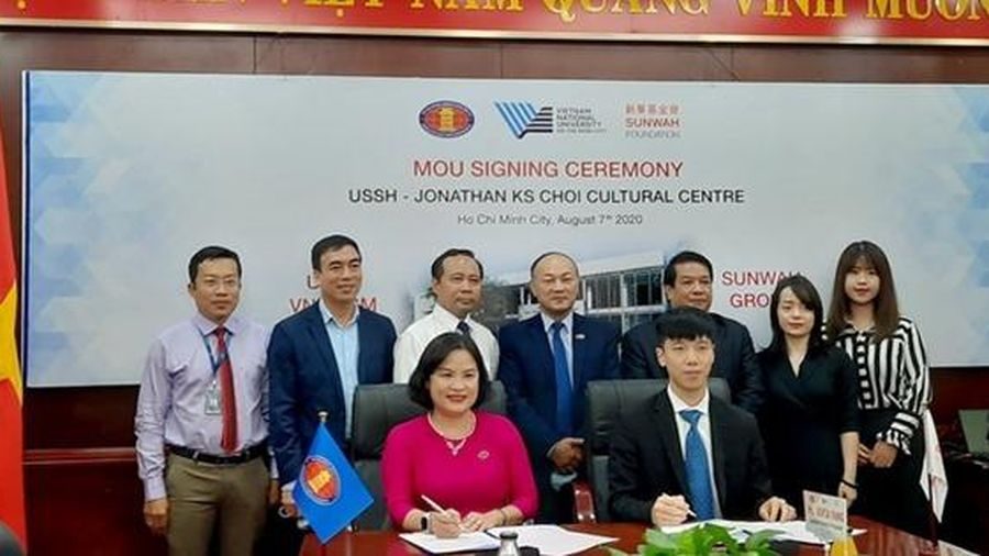 USSH và Quỹ Sunwah ký kết hợp tác thành lập trung tâm đổi mới sáng tạo