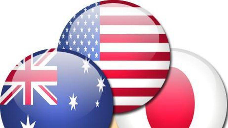 Đối đầu Mỹ - Trung gia tăng, Bộ Tứ rủ nhau nhóm họp