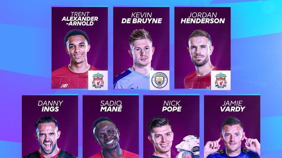 Hé lộ danh sách cầu thủ xuất sắc nhất Ngoại hạng Anh