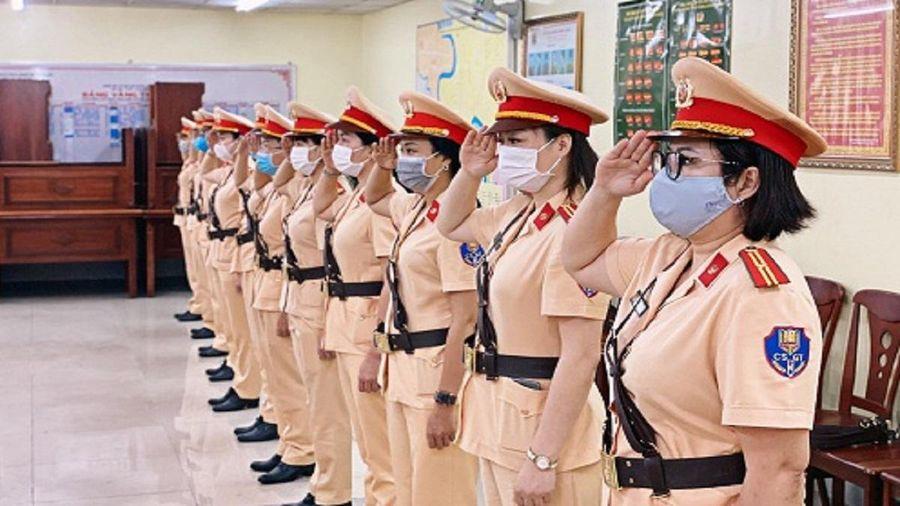 TPHCM: Chuẩn bị ra mắt đội nữ CSGT dẫn đoàn